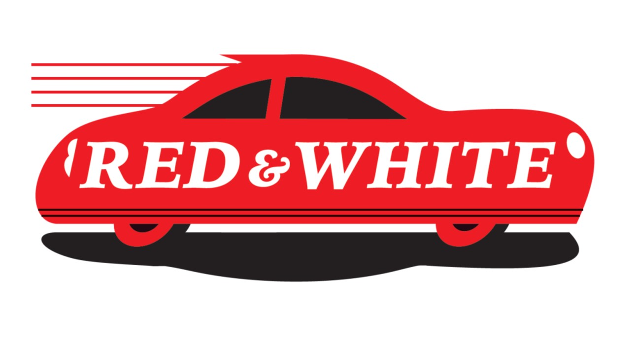 LOGO RED AND WHITE